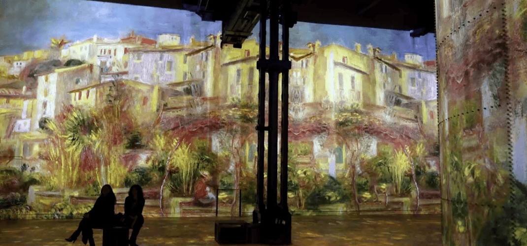 New wonderful exhibition at Atelier des Lumières!