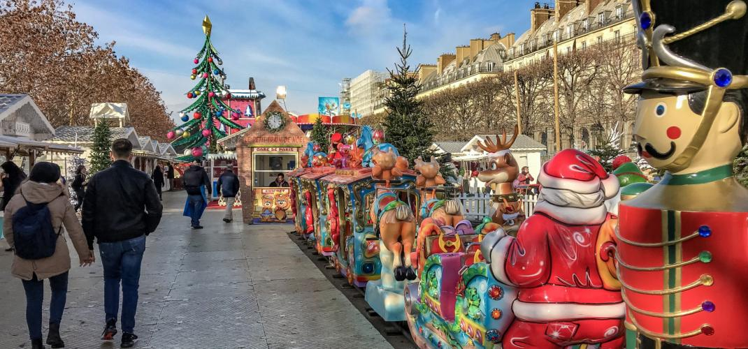 A wonderful Christmas in Paris!